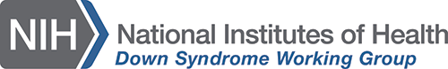 NIH Down Syndrome Working Group logo